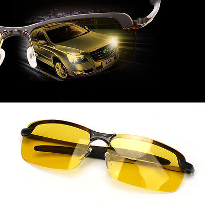 Polarized Yellow Prevention High-End Glasses Night Vision Sunglasses - Yellow Sunglasses