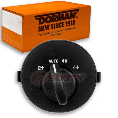 Dorman 4WD Switch for Chevy Trailblazer 2002-2009 - 4 Wheel Drive en