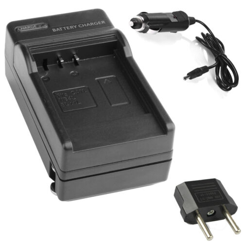 HDR-GWP88 2-Pack Battery and Charger for Sony HDR-GW66 HDR-GW66V HDR-GWP88V Handycam Camcorder