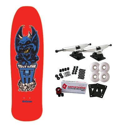 Birdhouse Skateboard Complete Tony Hawk Gargoyle 9.375' Raw Trucks