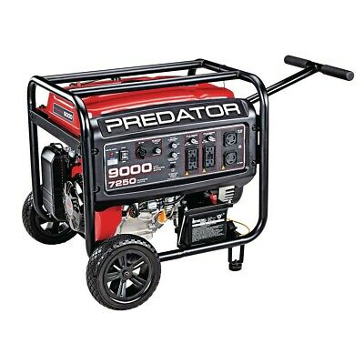 Predator 9000-w 13-hp Portable Rv Ready Gas Powered Generator W Electric Start