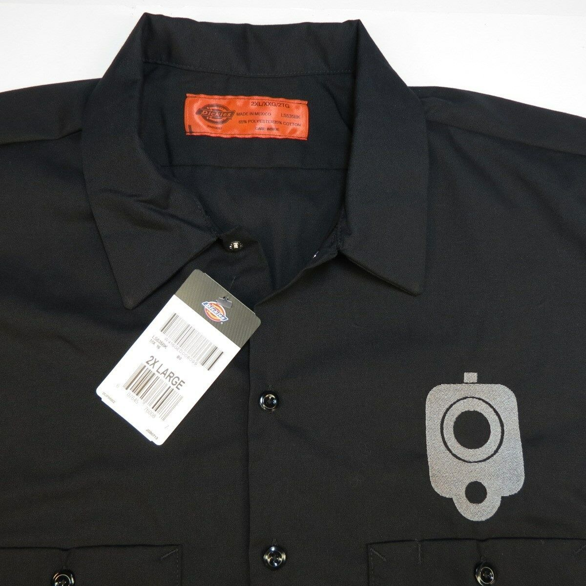 Concealed Designs Conceal Carry Firearm Gun Long Sleeve Shirt L XL NWT New