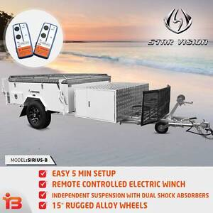 Off-Road Camper Trailer With PVC Floor and Annex Walls Fairfield Fairfield Area Preview