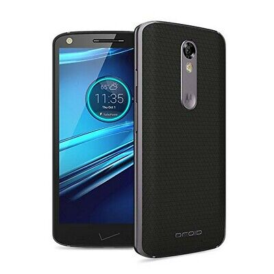 Motorola Droid Turbo 2 | Grade B+ | Verizon | Black | 32 GB | 5.4 in Screen