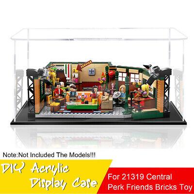 DIY Acrylic Display Case Box For LEGO 21319 Central Perk Friends Bricks Toy