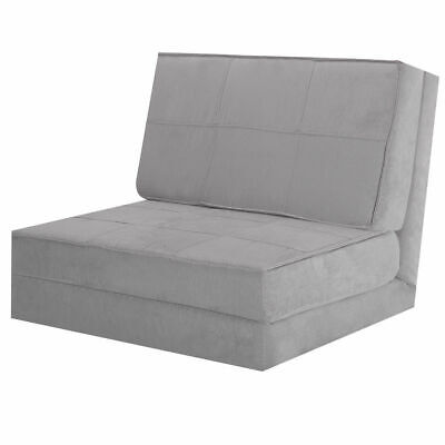 Convertible Fold Down Chair Flip Out Lounger Sleeper Bed Couch Game Dorm Guest - Fold Out Bed