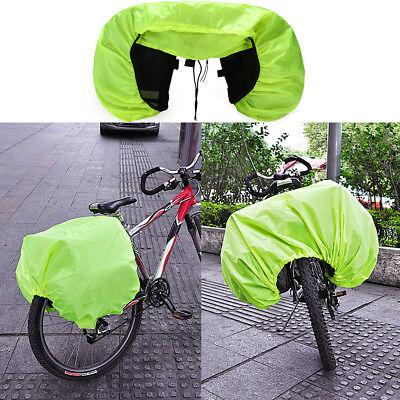 Waterproof Silk Rain Cover Coat For Bicycle Rear Seat Carrier Bag Rack Pannier  (Rain Coat Rack)
