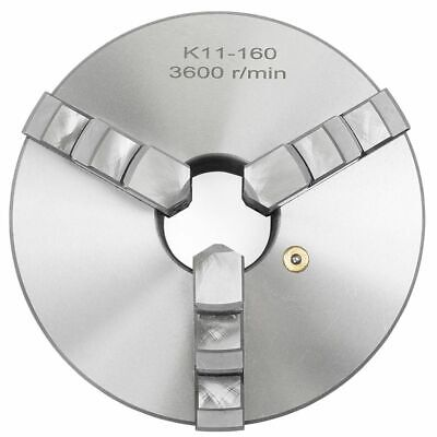 "6"" 3 Jaw Self Centering Precision metal Lathe Chuck Shank Arbor Adaptor"