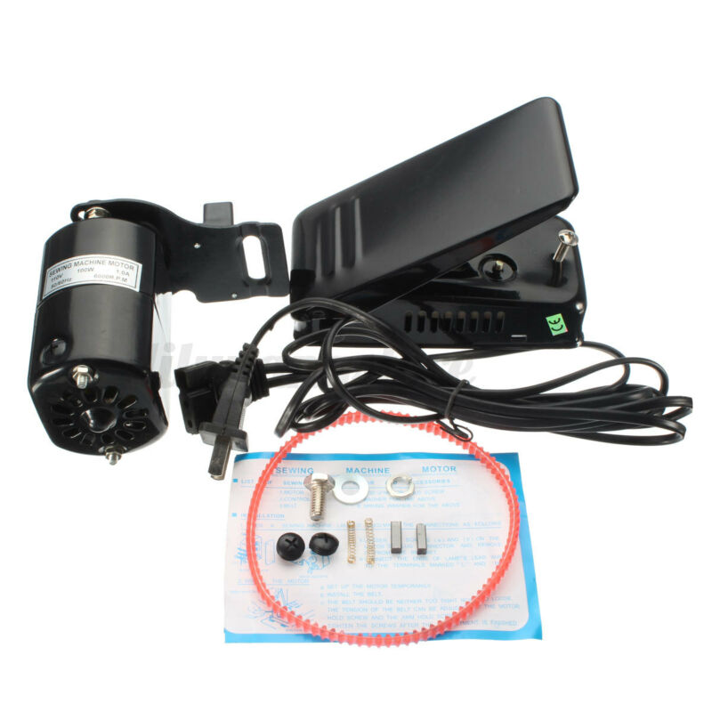 1.0 Amps Home Sewing Machine Motor Foot Pedal Controller 110V 100W HA1 15 66 99K