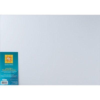"EZ Quilting Template Plastic 12"" x 18"" 882670051 - 3 Sheets"