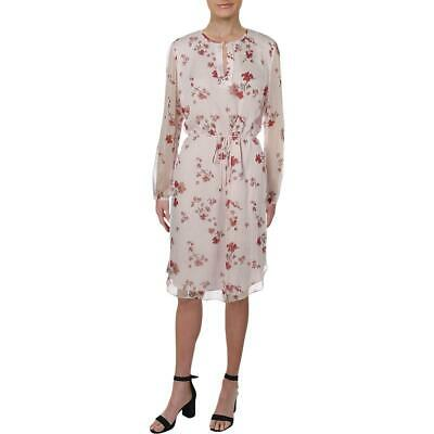 Lauren Ralph Lauren Womens Zakery Floral Sheer Shift Casual Dress BHFO 2038