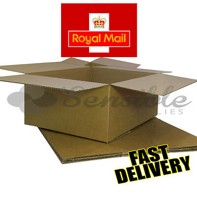 10 NEW LATEST ROYAL MAIL MAXIMUM SIZE SMALL PARCEL CARDBOARD BOXES 450x350x160mm