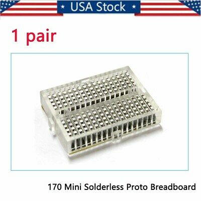 Mini Solderless Prototype Breadboard 170 Tie-points Arduino Shield Hh