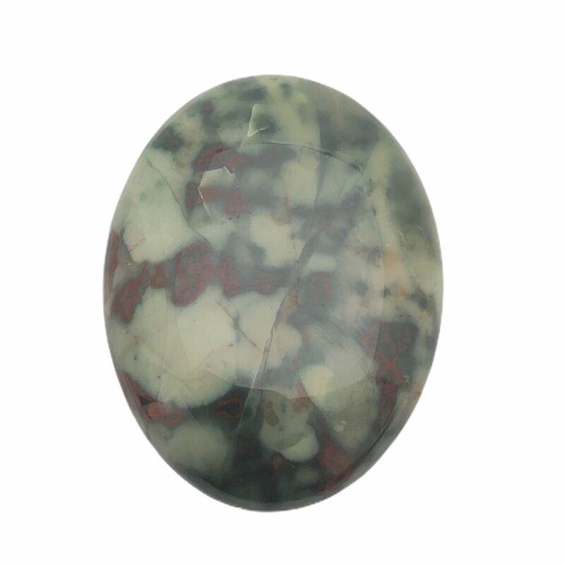 Oval Natural Fine Bloodstone Cabochon Gemstone