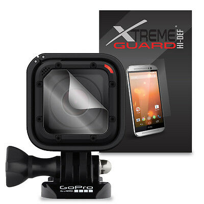 6-Pack HD XtremeGuard HI-DEF Screen Protector Skin For GoPro Hero 4 Session Lens