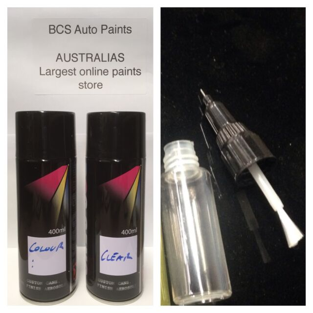 Car Touch Up Paint Spray Kit + Pen - VOLVO AUTUMN GOLD CODE 338