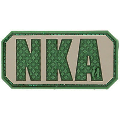 Maxpedition Nka Geen Bekend Allergieën 3D Pvc Rubber Badge Morale Patch A