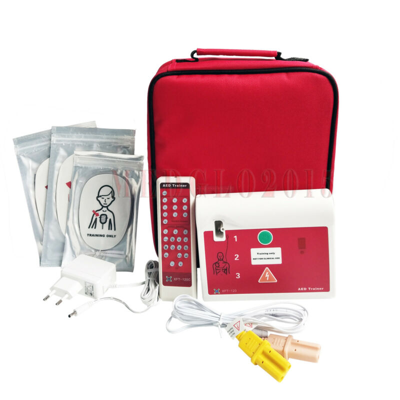 5× Sets AED Trainer First Aid Training Machine For CPR Course Training Practice