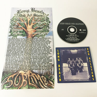 Long Beach Dub Allstars 1999 single promo CD w/ insert poster Sealed NEW Sublime
