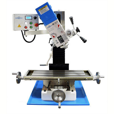 Pm-727-v Vertical Bench Top Milling Machine Variable Speed Free Shipping