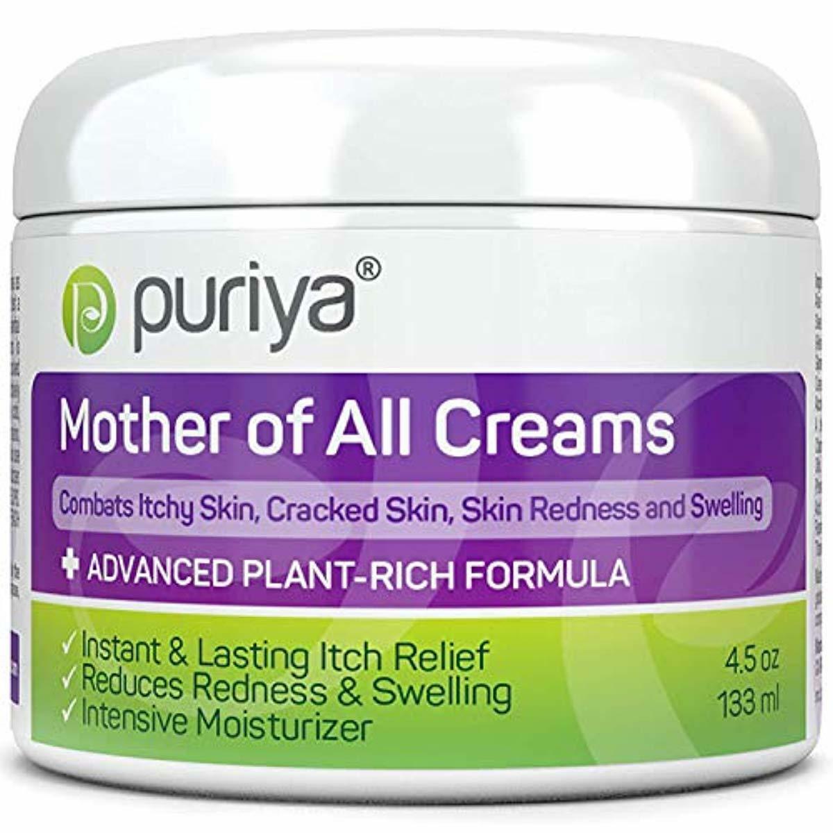 Puriya Cream for Eczema, Psoriasis, Dermatitis and Rashes. P