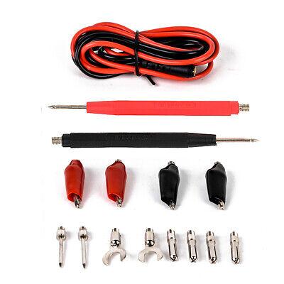 16pcsset Multifunction Digital Multimeter Probe Test Lead Cable Alligator Clip