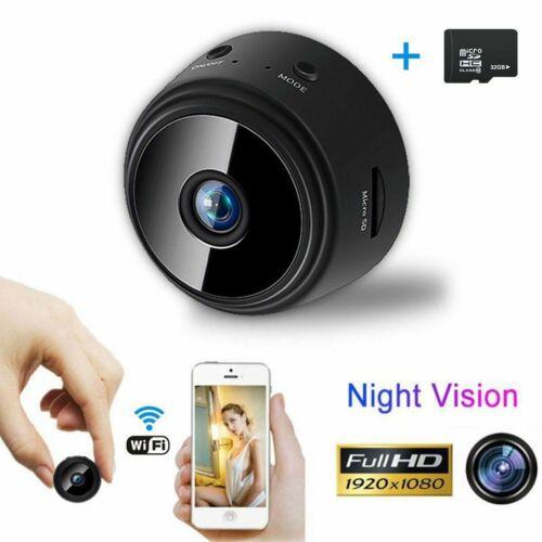 WiFi Mini Hidden Spy Camera Wireless HD 1080P Digital Video