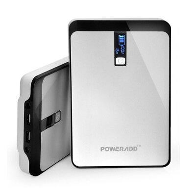 Poweradd 32000mAh External Battery Charger Power Bank For Phone Notebooks Tablet ()