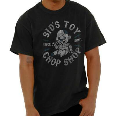 Shirt Toys - Toy Chop Shop Cartoon Nineties Movie Gift Short Sleeve T-Shirt Tees Tshirts