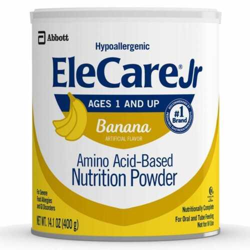 EleCare Jr Banana 6 Cans 14.1oz. Formula, New In Case, Free Shipping 6/22 exp