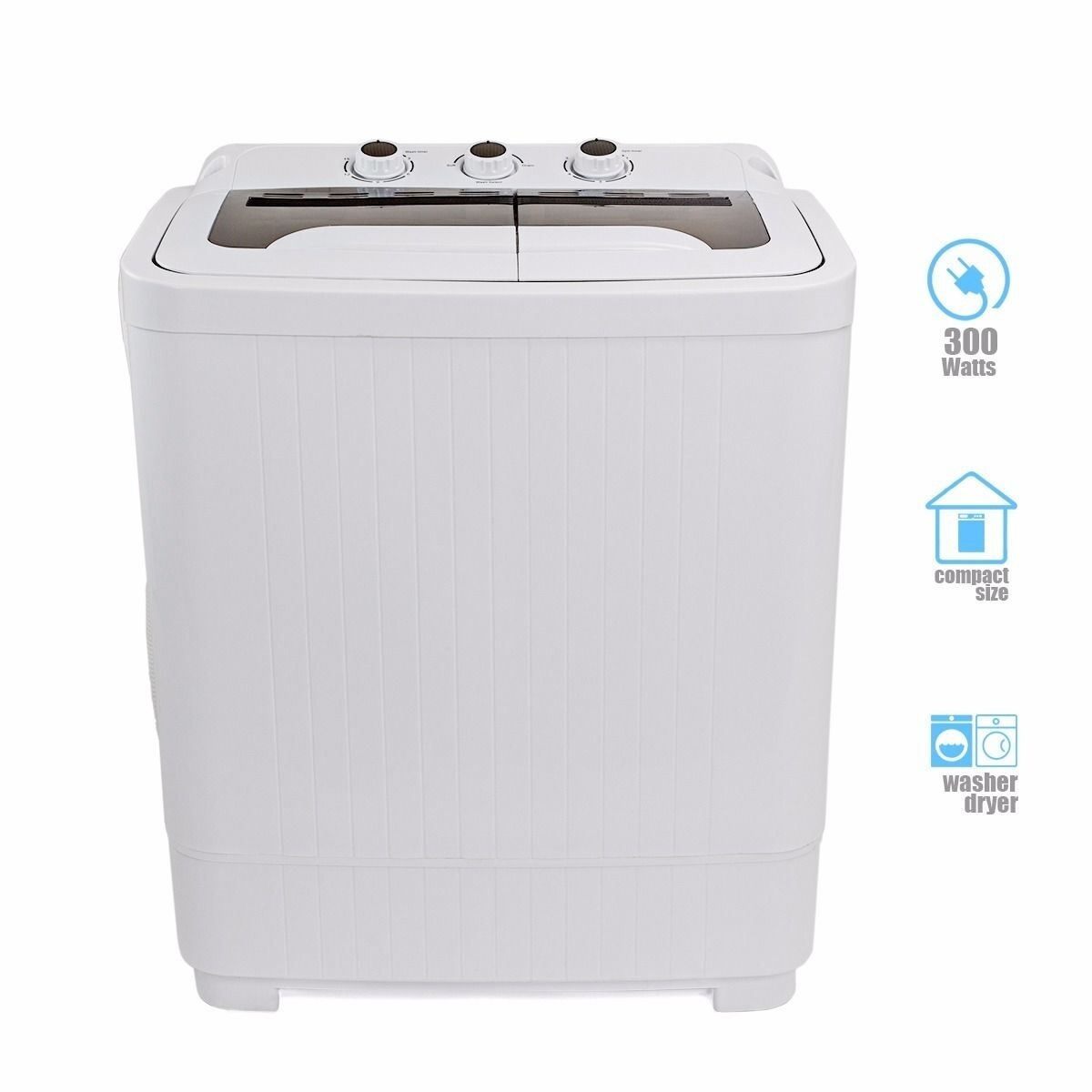 Portable Washer And Dryer Combo For Apartments: Portable MINI Washer Machines Compact 8