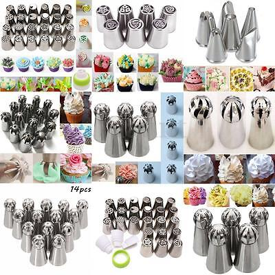 Russian Style Ball Tip Nozzles Icing Piping Nozzle Diy For Cake Baking Tool Set