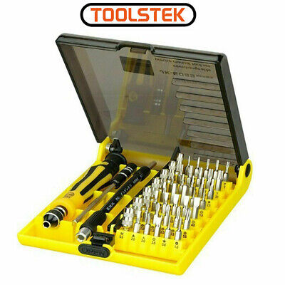 Jackly 45 in 1 Precision Opening Pry Screwdriver Set Repair Tool Kit For Phones