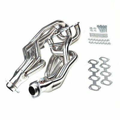 Long Tube Racing Manifold Header/Exhaust For 1996-2004 Ford Mustang GT 4.6L V8 ()