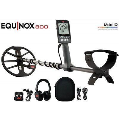 NEW Minelab Equinox 800 Metal Detector - DETECNICKS LTD