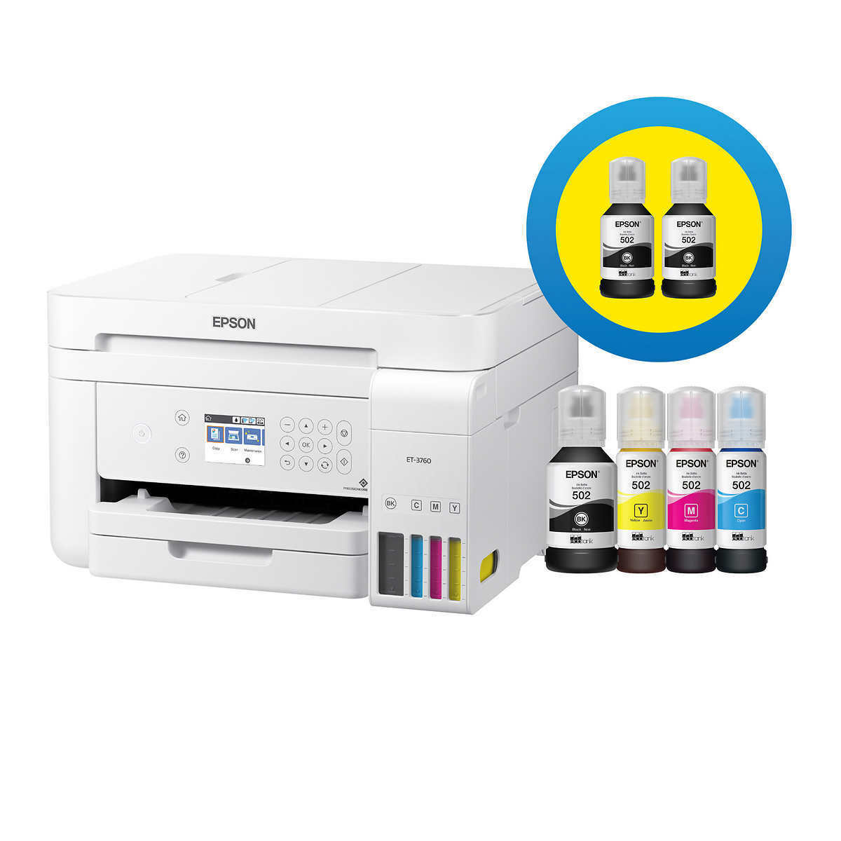 Epson WorkForce ET-3750 Special Edition EcoTank All-in-One S