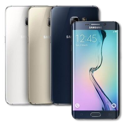 SELLER REFURBISHED SAMSUNG GALAXY S6 EDGE 32GB SM-G925A ATT 4G LTE SMARTPHONE G925