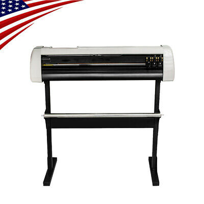 Us 33 Plotter Machine Cutter Vinyl Cutter Plotter Wsoftware Supplies New
