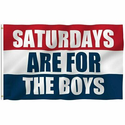 3×5 Saturdays Are For The Boys Flag Male Fraternity Flags Polyester Décor
