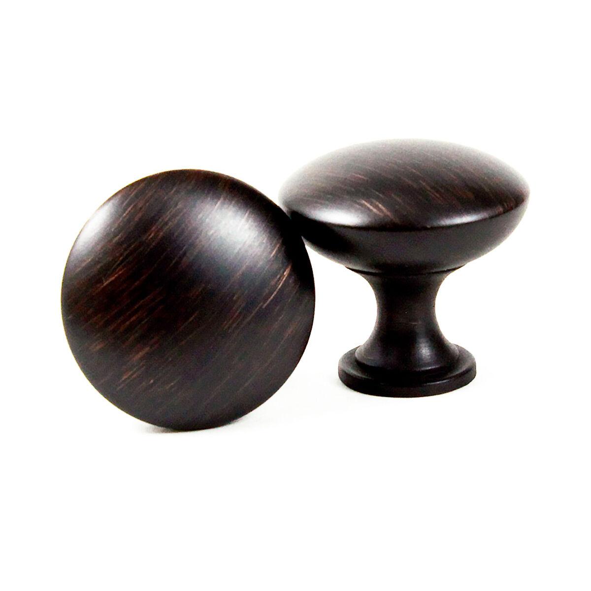 Brush Oil Rubbed Bronze Mushroom Kitchen Cabinet Hardware Knob Pull