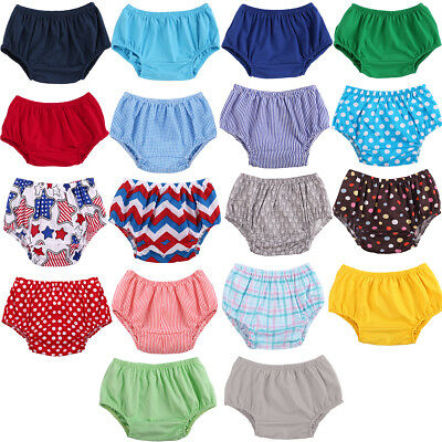 Toddler Girl Diaper Covers (Infant Baby Boy Girl Cotton Shorts Pants Toddlers Nappy Diaper Covers)