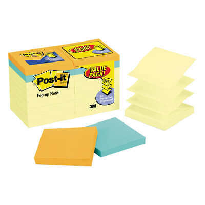 Post-it Pop-up Notes Canary Yellow 3 X 3 18-pack