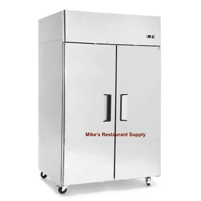 New 2 Door Refrigerator Stainless Steel 8269 Commercial Restaurant Nsf Food