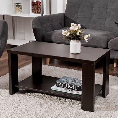 Rectangular Storage Cocktail Table - Costway Coffee Table Rectangular Cocktail Table Living Room Furniture w/ Storage