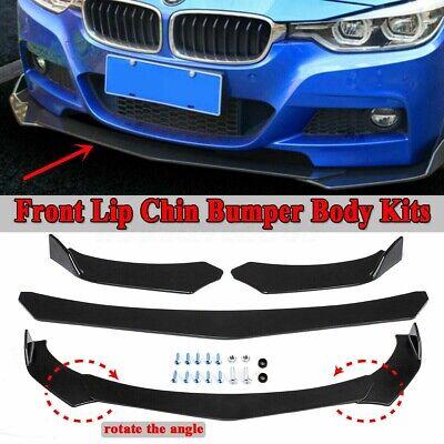 Front Bumper Lip Body Kit Spoiler For BMW E39 E46 E53 E60 E61 X5 E70 X6 E71 CAO