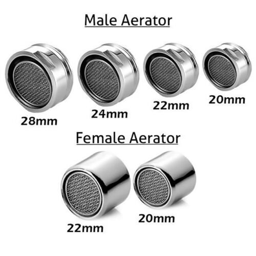 Aerator Tap 18,20, 22, & 28mm Faucet Anti-Splash Fashion No