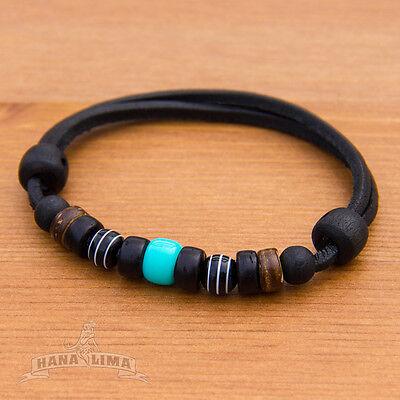 Surferarmband Lederarmband Armband Leder Herren Damen Herrenarmband Damenarmband