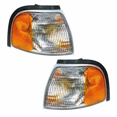 Marker Signal Blinker Corner Parking Light Pair Set for 98-00 Mazda Pickup Truck
