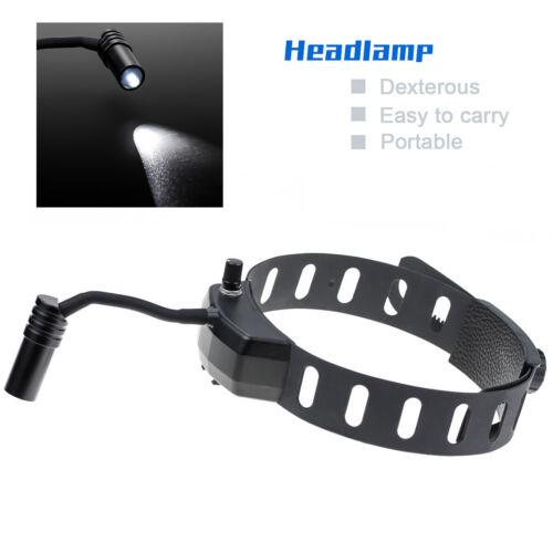5W Dental Portable Surgical LED Headlight Lamp DY-005 Brightness Adjustable ENT