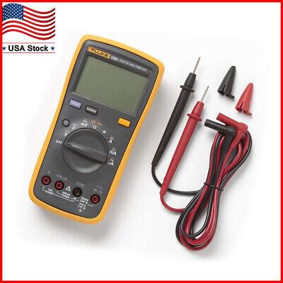 Fluke 15b F15b Digital Multimeter Meter Dmm 4000 Counts Automanual Ac Dc Va